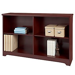 realspacer-magellan-collection-2-shelf-sofa-bookcase-29inh-x-47-1-4inw-x-11-3-5ind-classic-cherry
