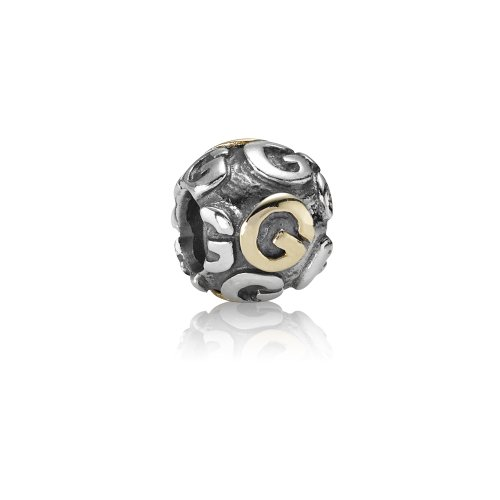 Pandora - 79298-G - Drops Femme - Lettre - Initiale - Argent 925/1000