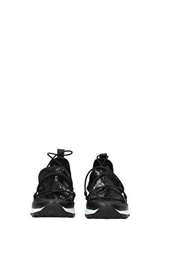 andreatqs Choo Jimmy Donna Glitter Sneakers Eu Nero x6UUnfq