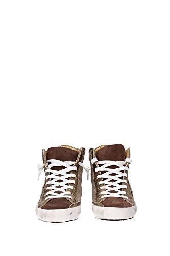 CLHDXM48 Philippe Model Sneakers Mujer Gamuza Beige Beige
