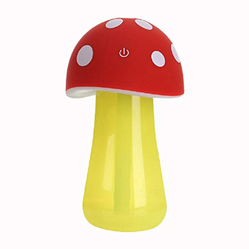 laimengnew-home-aroma-led-humidifier-mushroom-air-diffuser-purifier-atomizer-red