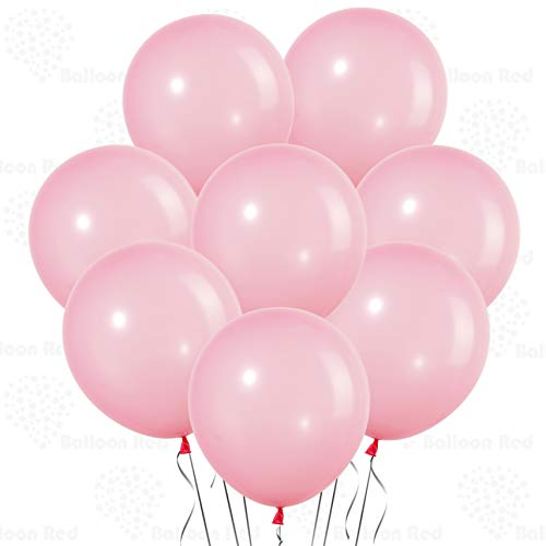 Baby Rose 10 Inch Pastel Color Thickened Latex Balloons, Pack of 144, Premium Helium Quality for Wedding Bridal Baby Shower Birthday Party Decorations Supplies Ballon Baloon Thinken ()