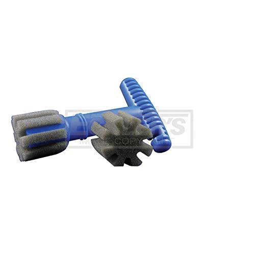 Eckler's Premier Quality Products 40-253387 Wheel Lug Nut Cleaning/Polishing Brush