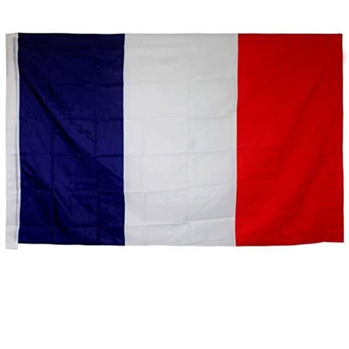 JZG French Flag, 8 Sizes, Flags of The World (Size : 96x64cm)