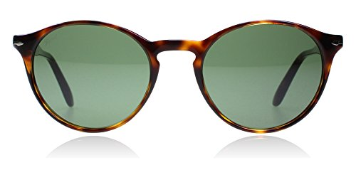 Persol PO3092SM 901531 Havana PO3092SM Round Sunglasses Lens Category 3 Size 50 (Sunglasses Persol)