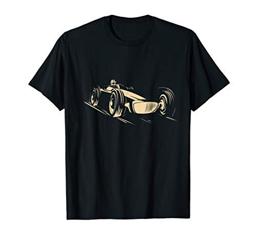 Race Car T-Shirt Racing Sports Auto Racer Vintage Cool Tee