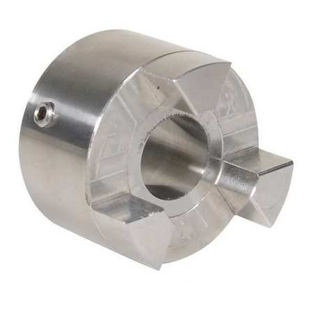 Tb Woods   Altra Industrial Motion   Ss110112   Ss110 1 1 2 Stainless Steel Jaw Coupling Hub  Keyway  Yes