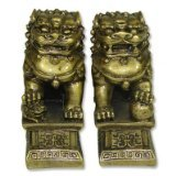 Chinese Feng Shui Temple Lions Fu Dogs - Chinese Statues Lion
