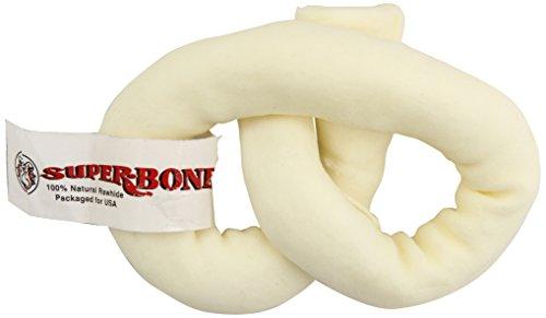 LENNOX 105024 Pretzel Dog Chew, Medium, 5 to (Rawhide Pretzel)