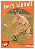 1959 Topps Regular (Baseball) Card# 274 Jerry Kindall of the Chicago Cubs VGX Condition