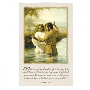 Baptism of Christ Program Cover
