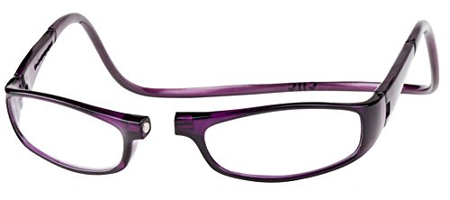 (Clic Magnetic Euro Reading Glasses in Purple +1.50)