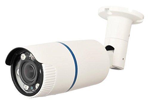 HDView 2.4MP 4-in-1 (TVI/AHD/CVI/960H) Long Range Matrix EXIR 2.8-12mm Vari-Focal Lens HD 1080P Turbo Platinum Outdoor IR Bullet ()