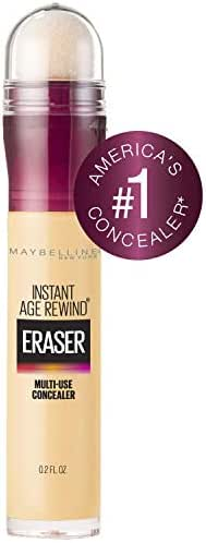 Maybelline Instant Age Rewind Eraser Dark Circles Treatment Multi-Use Concealer, Neutralizer, 0.2 Fl Oz (Pack of 1)