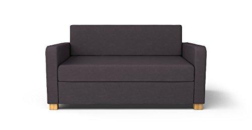 CUSTOM MADE SLIPCOVERS for Solsta Sofa Bed Dark Grey