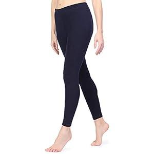 Ladeheid Leggings Interieur en Polaire Vêtement Hiver Femme LAMA06