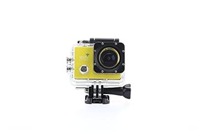 Uniquer Sport DV SJ9000 WiFi 14MP 170 Degree 1080P Digital Waterproof Helmet Sports Action Car Camera Yellow