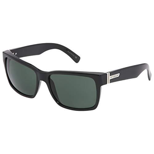 (VonZipper Elmore Square Sunglasses,Black Gloss,One Size)