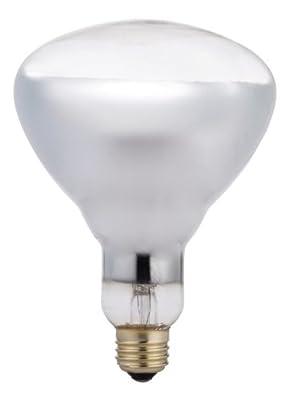 Philips Heat Lamp R40 Flood Light Bulb: 250-Watt