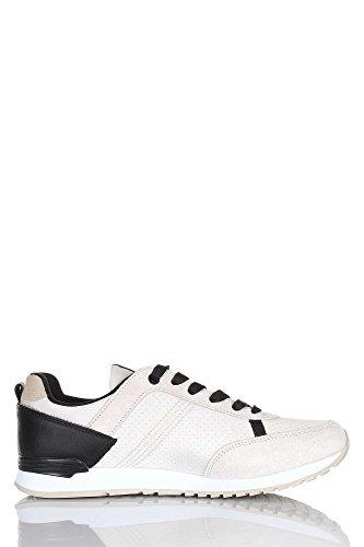 COLMAR Travis Drill P/E Sneakers Uomo Sintetico Navy Navy 42 Bianco