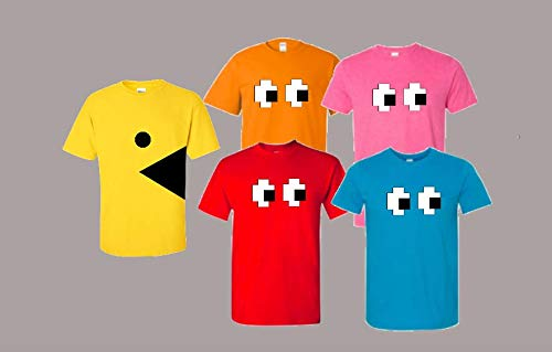 Video Game Halloween T shirt Group Costume]()