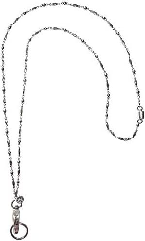 kooky klickers 19/'/' lanyard with breakaway clip key ring key chain Red