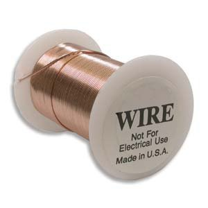 Tarnish Resistant Copper Wire 20 Gauge 15 Yard (13.5m) Copper Color 42684 ()