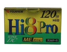 New-Hi8 Pro SuperDC 8mm Video Tape 120-Minutes - FUJH8120