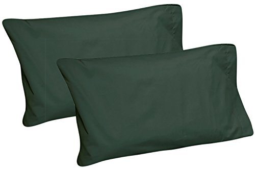 Cot Sheets 30 x 75 (Fitted, Flat, Sets) 2 Pillowcases Hunter Green