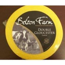 Belton Farm Double Glouchester English Cheese, 8.8 Pound -- 1 each.