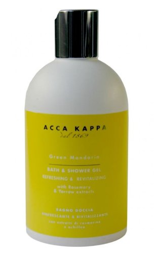 Foam Mandarin (Acca Kappa Green Mandarin Bath Foam & Shower Gel)