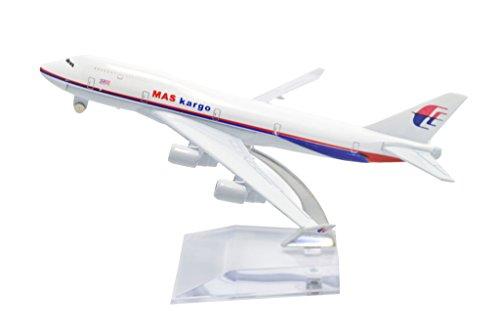 TANG DYNASTY 1/400 16cm マレーシア航空 Malaysia Airlines ボーイング B747 貨物機 高品質合金飛行機プレーン模型 おもちゃ