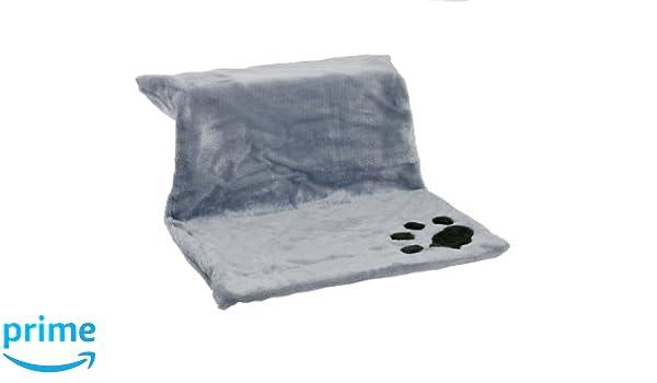 Karlie 33182 Kitty Siesta Heater Bed, Gris, 46 x 30 x 23 cm: Amazon.es: Productos para mascotas