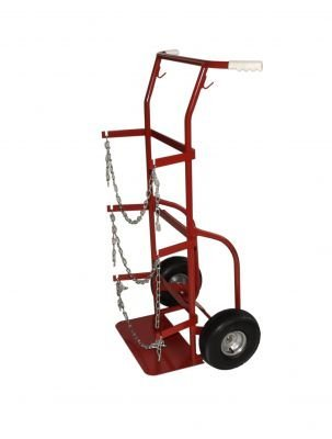 Truck Cylinder Carts - Milwaukee Hand Trucks 40765 Delivery Cylinder Truck 2 Gas Cylinders