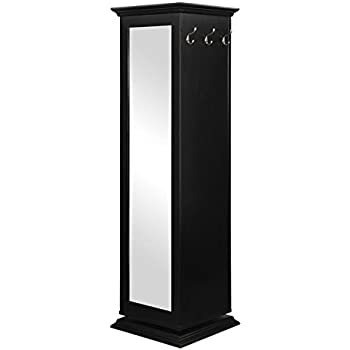 Coaster Swivel Cabinet Black