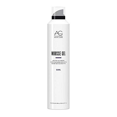 AG Hair Mousse Gel Extra-Firm Curl Retention 10 fl. oz