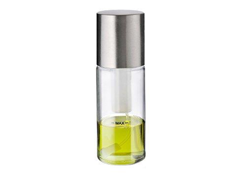 Moha 81003 Spicy Spray per aceto/olio PP/ABS/acciaio inox/vetro trasparente/Grigio 6 x 6 x 17 cm Carys Trade 7611264810033