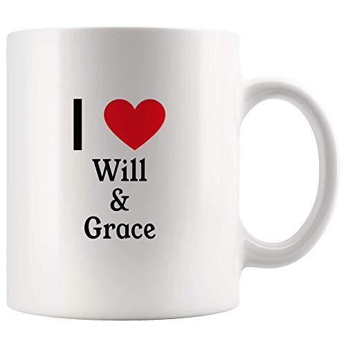 Grace Coffee (I Love Will & Grace Tea and Coffee Mug: 11oz Tea and Coffee Mug Merchandise For Fans Of Will & Grace TV Show!)