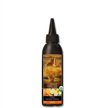 (Castillo de Piñar Citrus Balsamic Reduced Vinegar Non-GMO. Certified USDA Organic)