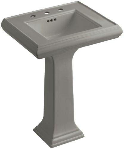 8 K4 Cashmere Memoirs Pedestal - KOHLER K-2238-8-K4 Memoirs Pedestal Bathroom Sink with 8