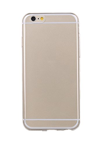 (Ultra Thin Slim Crystal Clear Soft TPU Cover Case Skin for 4.7