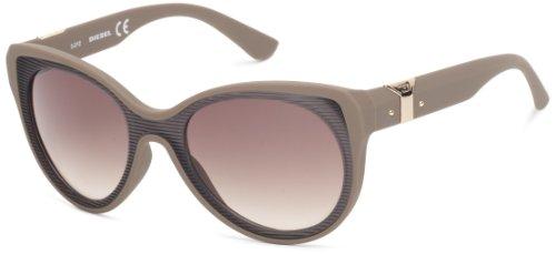 Diesel DL00325556F Cat-Eye Sunglasses,Brown,55 - Shades Diesel