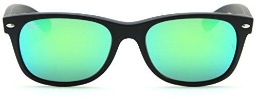 0f45b588b5a425 Ray-Ban RB2132 New Wayfarer Matte Flash Unisex Sunglasses 622 19 - 55mm ...