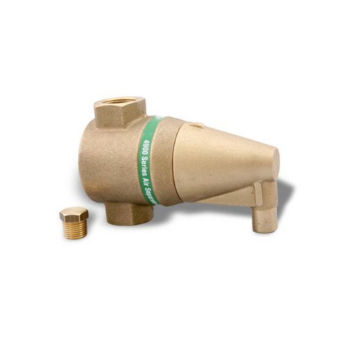 Taco 49100C-1 1-Inch Air Separator Sweat Valve Connection Bronze by Taco