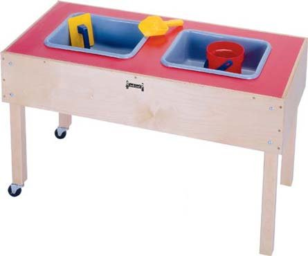 Jonti Craft 2 Tubs (Jonti-Craft 0486JC Toddler 2 Tub Sensory Table)