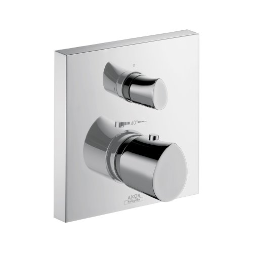 Price comparison product image AXOR Axor 12715001 Starck Organic Thermostatic w / Volume Control Chrome