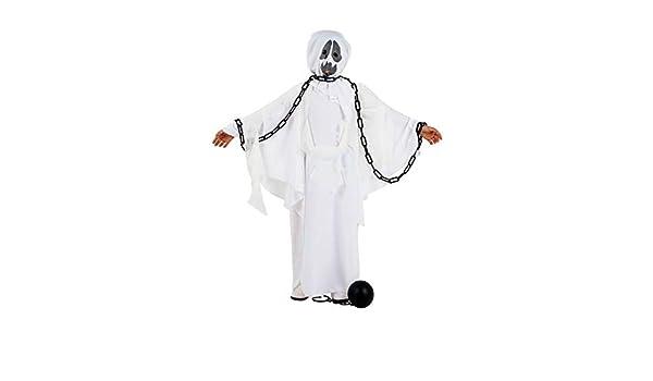 DISBACANAL Disfraz de Fantasma Adulto - Único, XL: Amazon.es ...