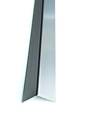 Silver 1 Meter Angle Trim Wall Edge Protector TMW Profiles Chrome /& Gold Effect Plastic PVC Corner 20x20mm