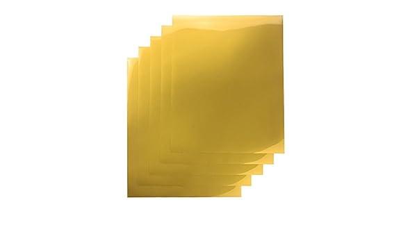 Guang Yin Tong, 30,48 cm x 25,4 cm hierro sobre transferencia de papel de prensa de calor vinilo (5 hojas precortadas) para camisetas, color blanco: Amazon.es: Juguetes y juegos