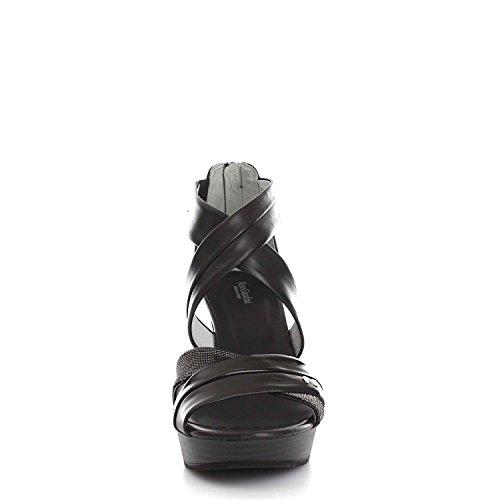 para Sandalias negro de vestir Nero Giardini negro mujer negro 7xnTTRwI